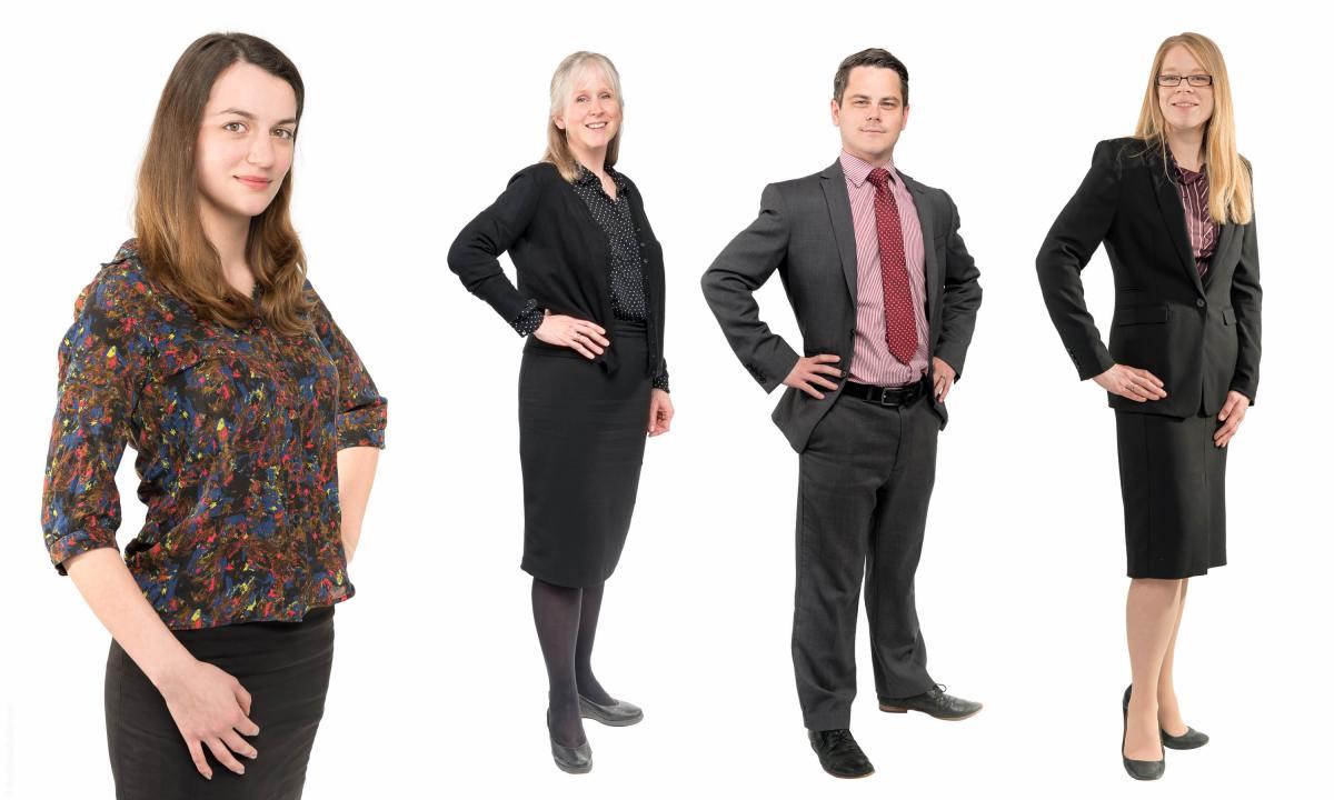 Full Length Corporate Portrait